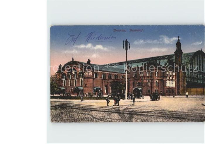 Bremen Bahnhof Kat. Bremen