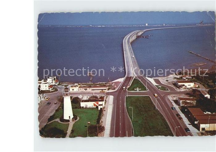 Port Isabel Queen Isabella Causeway South Padre Island aerial view Kat. Port Isabel