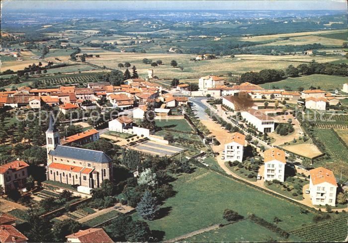 La Tour de Salvagny Vue aerienne generale Kat. La Tour de Salvagny