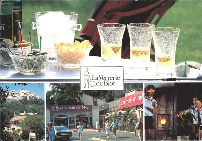 Biot La Verrerie de Biot L authentique verre souffle et bulle Kat. Biot