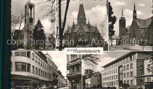 Bad Oeynhausen Klosterstrasse Rathaus Farne Villa Kat. Bad Oeynhausen
