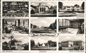 Bad Oeynhausen Kl Kurhaus Badehaus I Hallenbad Siel Terrassen Kurpark Neues Krankenhaus Kat. Bad Oeynhausen