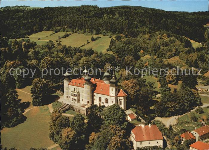 Artstetten Poebring Schloss Artstetten Erzherzog Franz Ferdinand Museum Fliegeraufnahme Kat. Artstetten Poebring