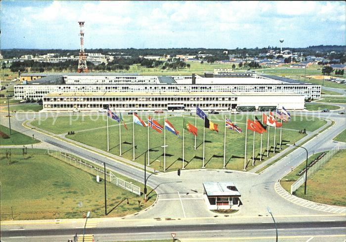 Belgium Peace and Security Sureme Headquarters Allied Powers Europe Kat. Belgium