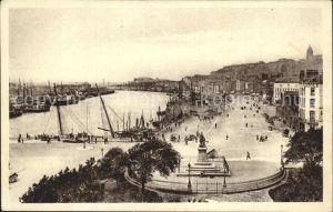 Boulogne sur Mer Vue generale du Port harbour Kat. Boulogne sur Mer