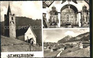 St Niklausen OW Kirche Kat. St Niklausen OW