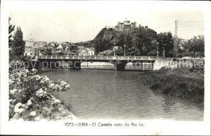 Leiria Castelo visto de Rio Lis Kat. Leiria