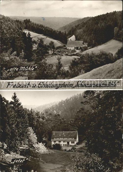 Besenfeld Schwarzwaldmuehle Kat. Seewald
