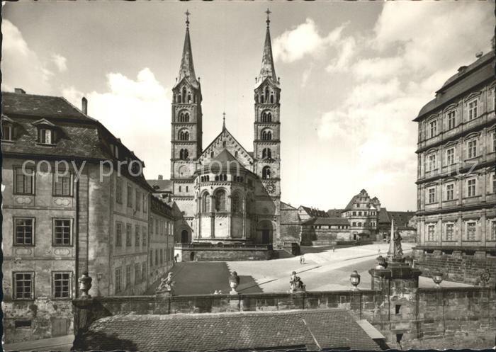 Bamberg Dom Domplatz Kat. Bamberg