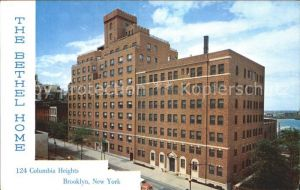 Brooklyn New York The Bethel Home Kat. Brooklyn