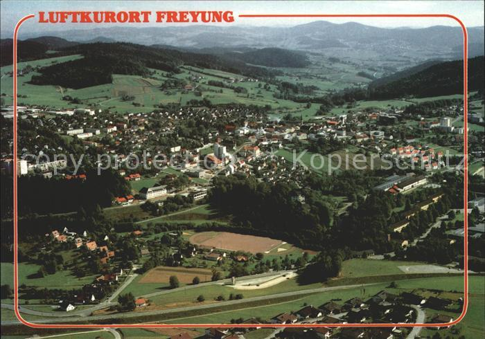 Freyung Luftkurort Fliegeraufnahme Kat. Freyung