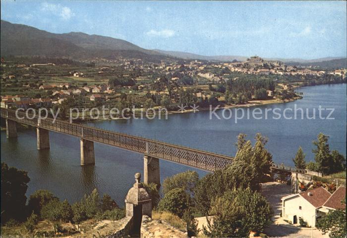 Valença Ponte Internacional sobre o Rio Minho Kat. Valença
