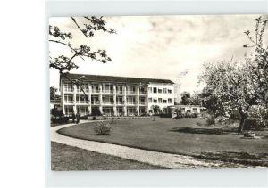 Nonnenhorn Strandhotel Nonnenhorn  Kat. Nonnenhorn Bodensee
