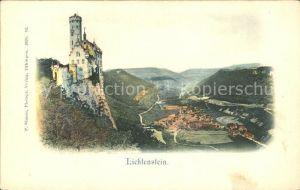 Honau Lichtenstein Schloss Lichtenstein  Kat. Lichtenstein