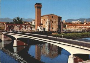 Pisa Antica Cittadella sul Lungarno  Kat. Pisa