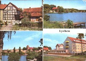 Lychen Malerwinkel Oberpfuhlsee Erholungsheim Bertold Brecht  Kat. Lychen
