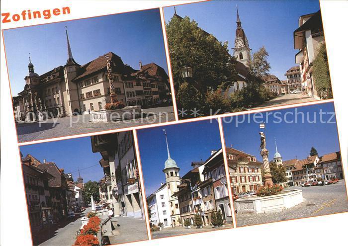 Zofingen Rathaus Ref. Stadtkirche  Kat. Zofingen