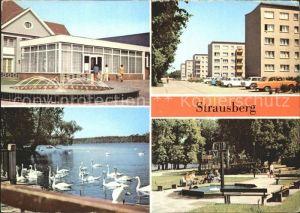 Strausberg Brandenburg Haus NVA Klub am See Artur Becker Strasse Straus See Fichteplatz Kat. Strausberg