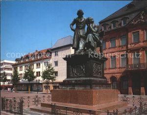 Hanau Main Brueder Grimm Denkmal  Kat. Hanau