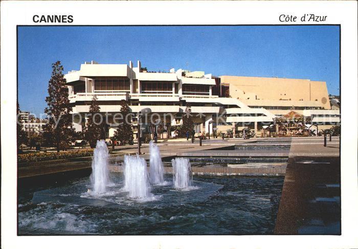Cannes Alpes Maritimes Palais Festivals Congres Kat. Cannes