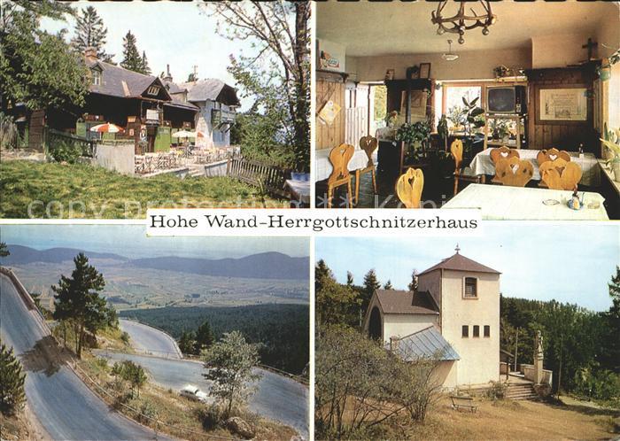 Hohe Wand Hohe Wand Herrgottschnitzerhaus  Kat. Hohe Wand