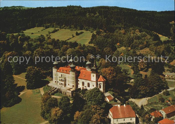 Artstetten Poebring Schloss Artstetten Fliegeraufnahme Kat. Artstetten Poebring