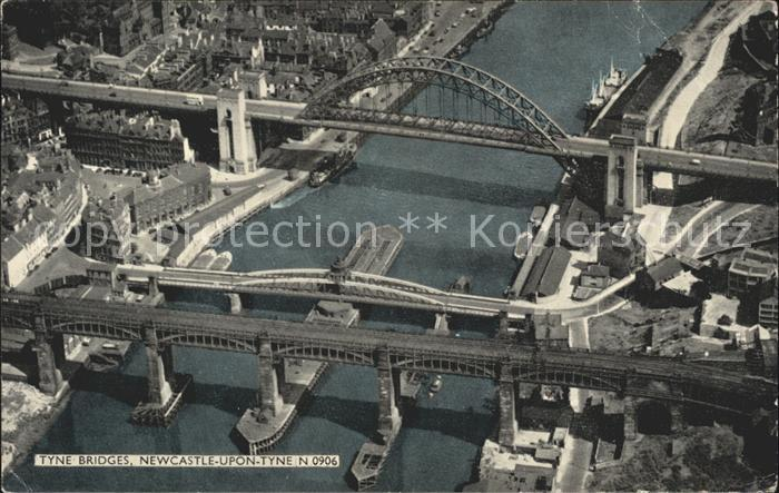 Newcastle upon Tyne Tyne Bridges Kat. Newcastle upon Tyne