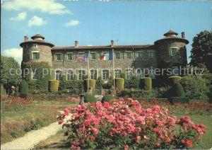 Chavaniac Lafayette Schloss Kat. Chavaniac Lafayette