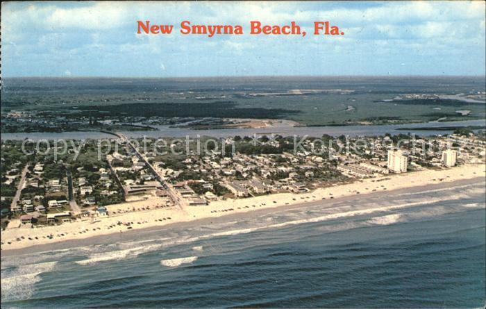 New Smyrna Beach Fliegeraufnahme Kat. New Smyrna Beach