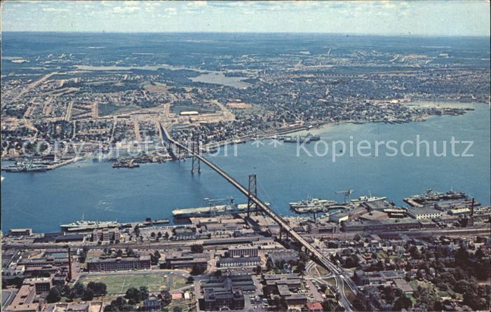Halifax Nova Scotia Fliegeraufnahme Kat. Halifax
