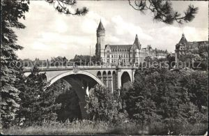 Luxembourg Luxemburg Pont Adolphe Kat. Luxembourg