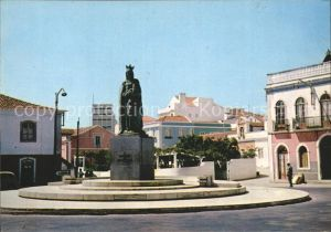 Caldas Da Rainha Platz mit Monument Kat. Caldas Da Rainha
