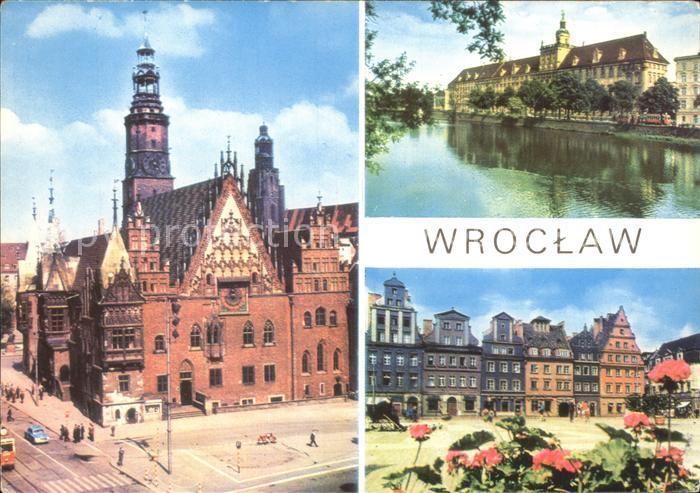 Wroclaw Rathaus Kat. Wroclaw Breslau