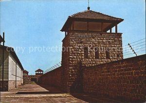 Mauthausen Oberoesterreich Konzentrationslager Wachtuerme Kat. Mauthausen