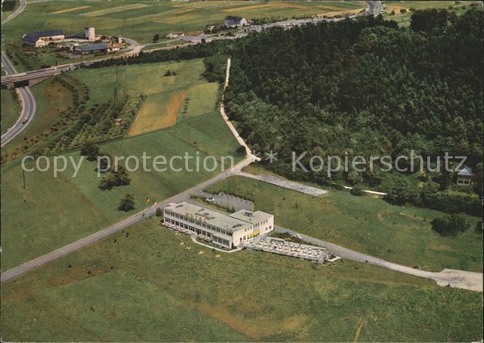 Montabaur Westerwald Fliegeraufnahme Hotel Montabaur Kat. Montabaur