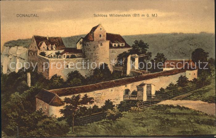 Donautal Schloss Wildenstein Kat Ulm Nr Kg31356 Oldthing