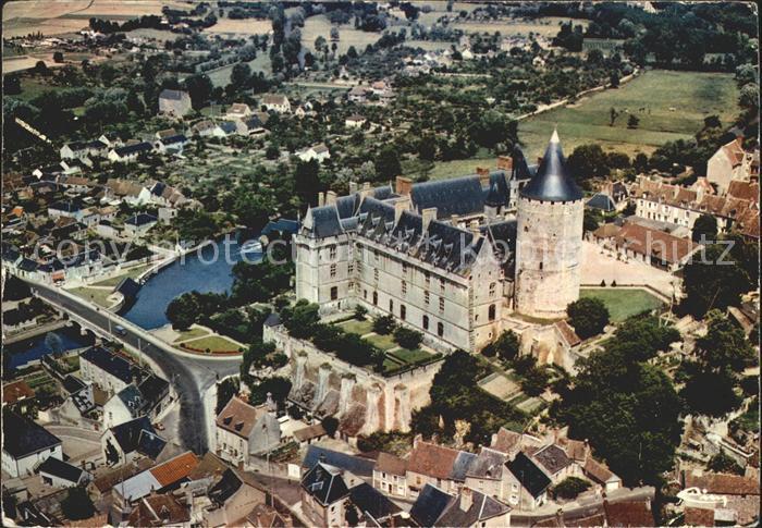 Chateaudun Le chateau Vue aerienne Kat. Chateaudun
