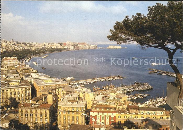 Napoli Neapel Panorama Kat. Napoli