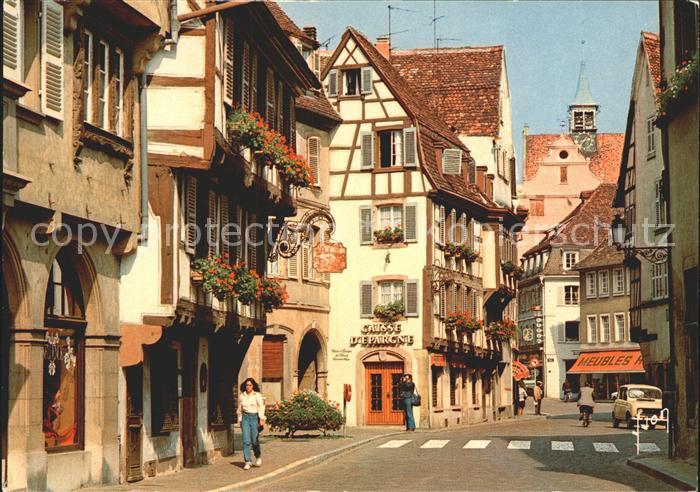 Colmar Haut Rhin Elsass Grand Rue Kat. Colmar