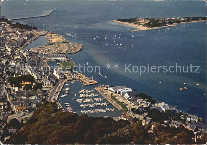 Le Croisic Vue aerienne d ensemble du port Kat. Le Croisic