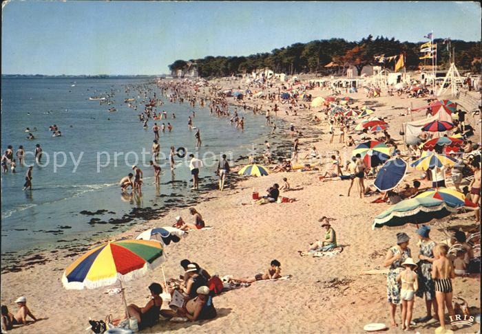 Saint Brevin l Ocean Loire Atlantique La plage vue de la Duchesse Anne Kat. Saint Brevin les Pins