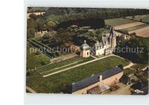 Vitre d Ille et Vilaine Fliegeraufnahme Chateau Rochers  Kat. Vitre