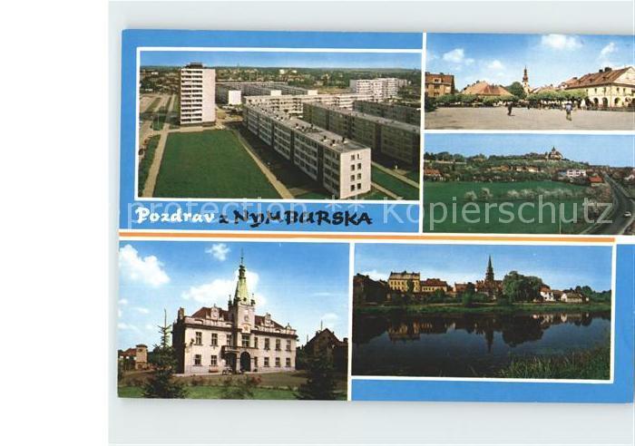 Nymburk Neuenburg Elbe Lysa nad Labem Namesti Sadska  Kat. Nimburg