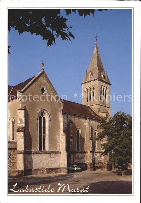 Labastide Murat Kirche Kat. Labastide Murat