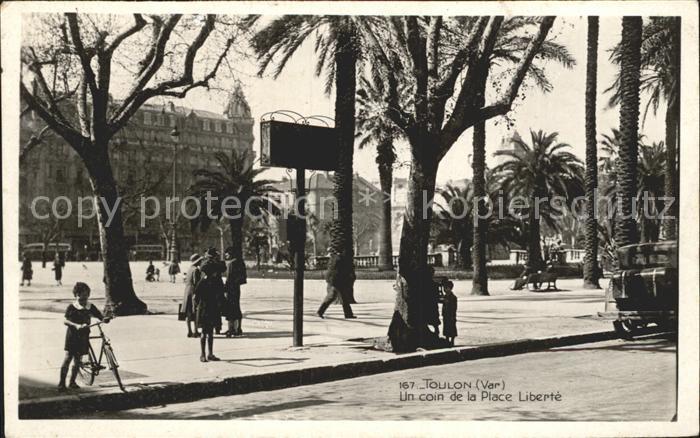 Toulon Var Un coin de la Place Liberte Kat. Toulon