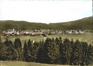 Kirchdorf Wald Totalansicht Kat. Kirchdorf i.Wald