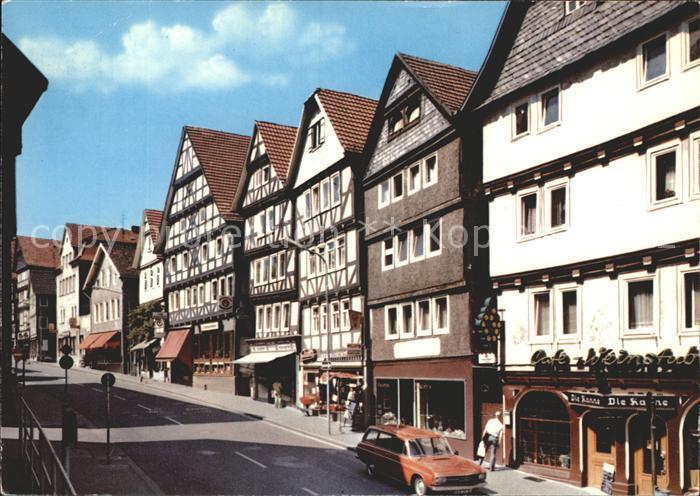 Bad Wildungen Brunnenstrasse Kat. Bad Wildungen