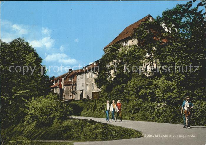Extertal Burg Sternberg Linderhofe Kat. Extertal