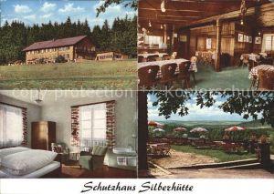 Silberhuette Tirschenreuth Gastraum Zimmer Terrasse Kat. Baernau