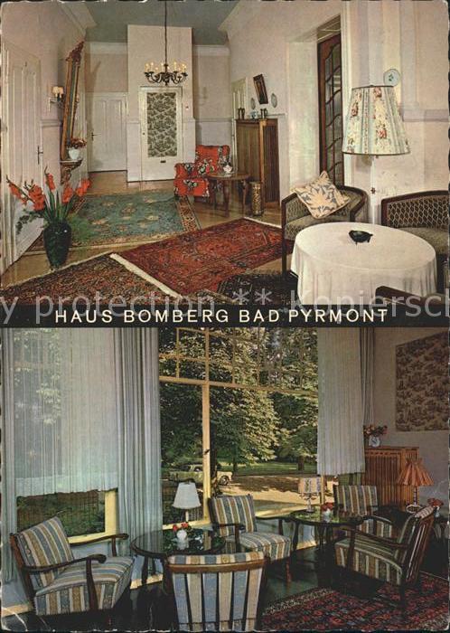 Bad Pyrmont Haus Bomberg Pension Kat. Bad Pyrmont